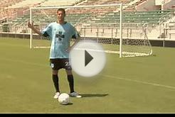 Soccer Game Tips : How to Cross a Soccer Ball