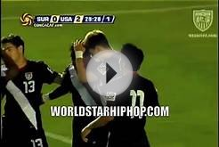 Swag: Team USA Soccer Player Celebrates A Goal By Doing