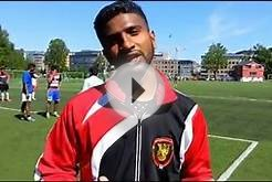 Tamil Eelam F.A. soccer team - Training before Sweden