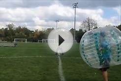 Team Building Bubble Soccer - Pet360 Company Bumpball game