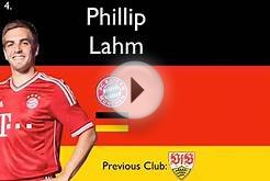 Top 10 Best German Player - All Things Soccer (Top 10s and