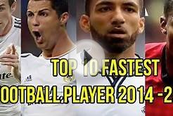 Top ten fastest soccer players in the world - 2015