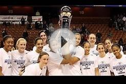 UConn Women Win 2015 American Conference Championship