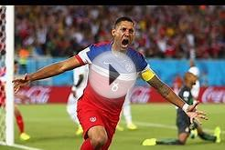 US Men's National Soccer Team Defeats Ghana In World Cup