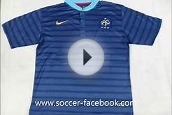 Wholesale 2012-13 new France soccer jerseys .wmv