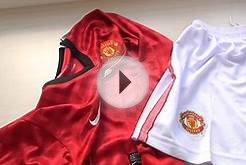 World Cup Manchester United Soccer red long sleeve jersey FULL