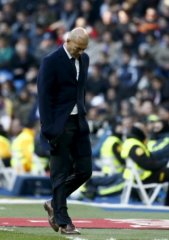 Zidane hinted there might be alterations in the summertime. (Reuters)